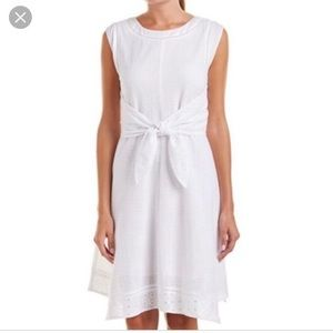 New without tags CAbi White Lizzie dress Midi